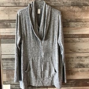 LIVI Active pullover hoodie heather gray 18/20